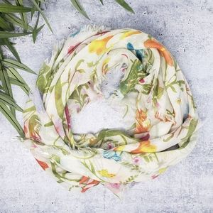 Old Navy | Floral Square Scarf